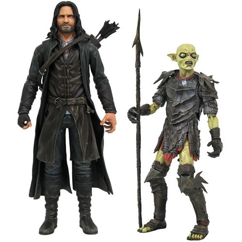 Lord of the Rings Series 3 Deluxe Action Figure Set of 2