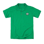 Green Lantern Embroidered Lantern Patch Polo T-Shirt