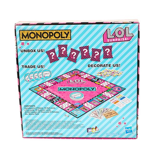 LOL Surprise Monopoly Game