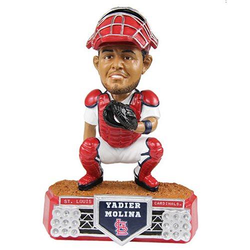 check out 080bc 9d961 MLB St. Louis Cardinals Yadier Molina Stadium Lights Bobble Head