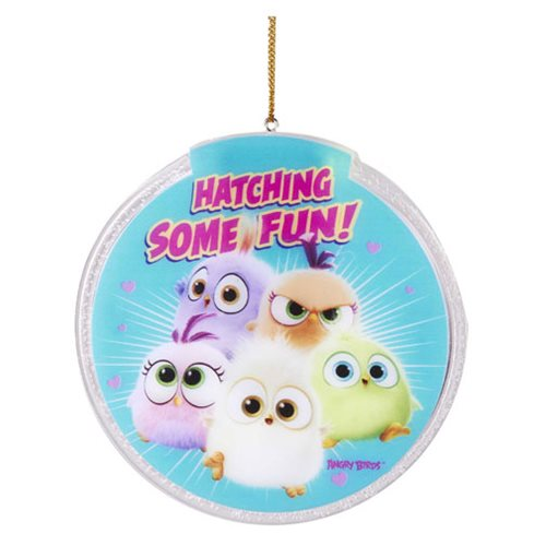 Angry Birds Movie Hatchlings Light-Up Disc Ornament