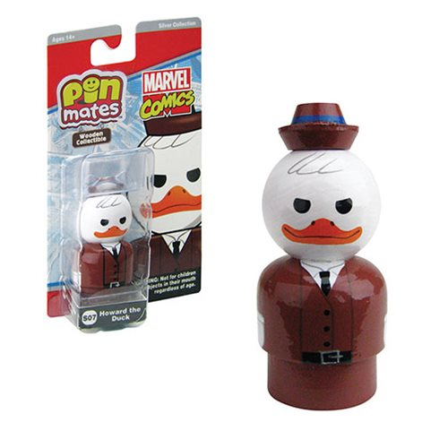 Howard the Duck Pin Mate Wooden Collectible