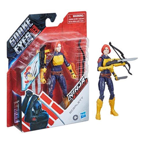 G.I. Joe Snake Eyes Movie 6-Inch Scarlett Action Figure