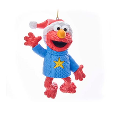 Sesame Street Elmo Electronic 4-Inch Ornament