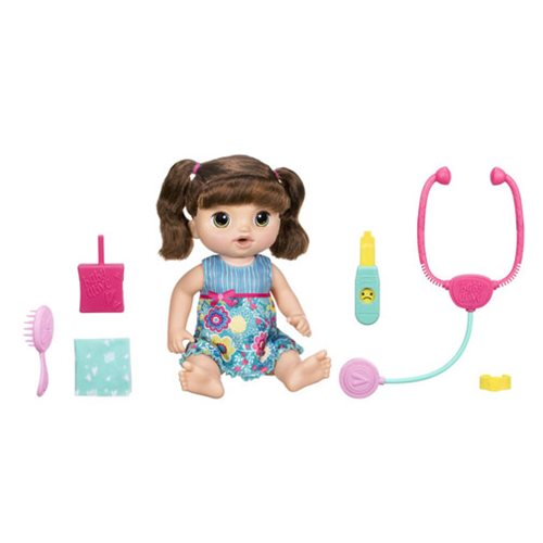 Baby Alive Sweet Tears Baby Brunette Doll