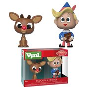 Rudolph the Red-Nosed Reindeer Rudolph and Hermie Vynl. Figure 2-Pack