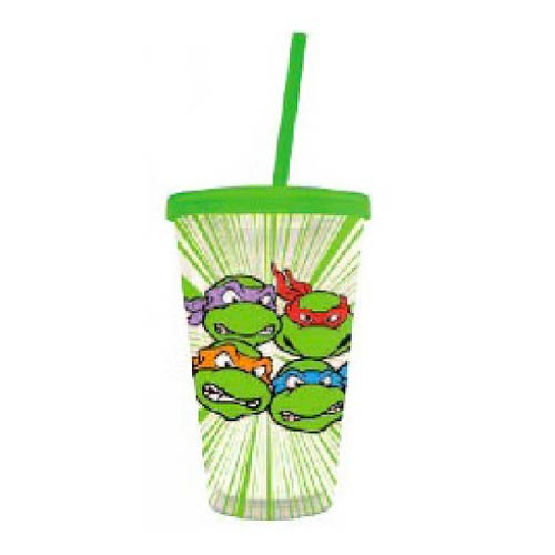 Teenage Mutant Ninja Turtles Heads Travel Cup