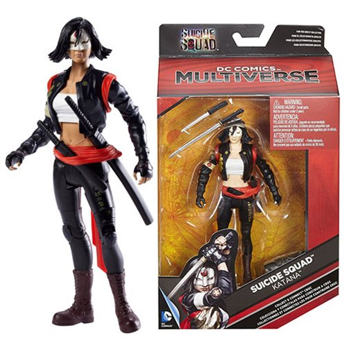 DC Multiverse Suicide Squad Katana Action Figure, Not Mint