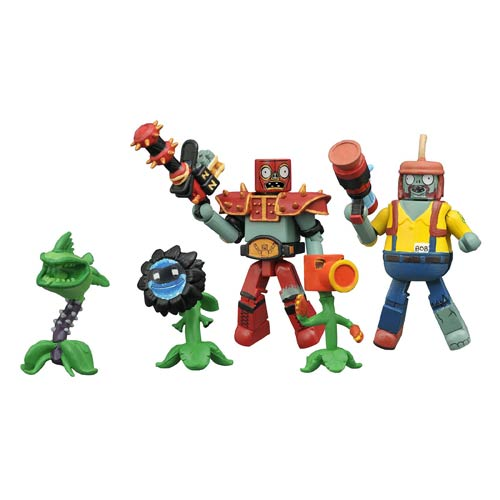 Plants vs. Zombies: Garden Warfare Minimates Series 2 Box Set