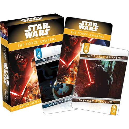Star Wars: Episode VII - The Force Awakens Playing Cards