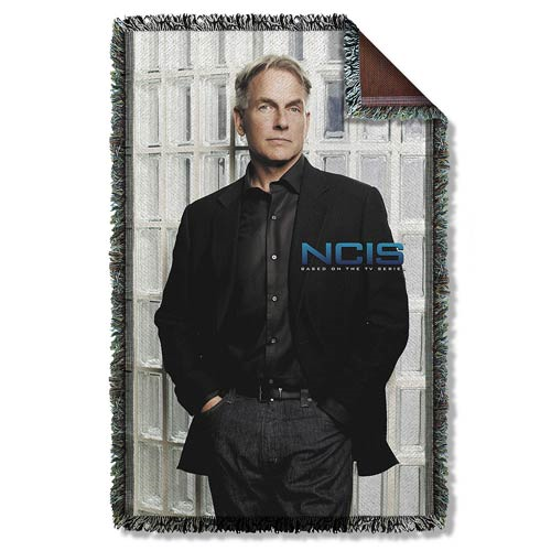 NCIS Glass Wall Woven Tapestry Blanket