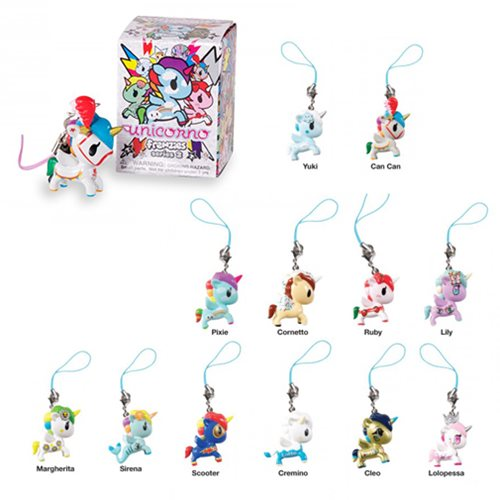 Tokidoki Unicorno Frenzies Series 2 Mini-Figure 5-Pack