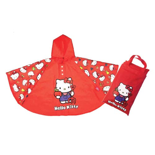Hello Kitty Collection Children's Poncho Rain Coat