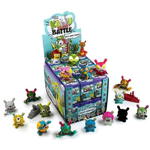 Kaiju Dunny Battle Series Mini-Figure Random 4-Pack