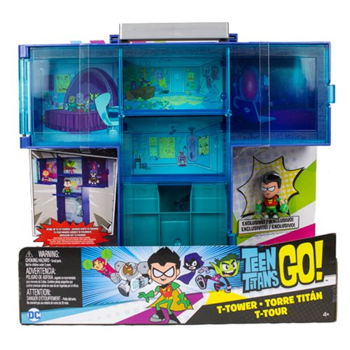 Teen Titans Go! Display Case and Robin Mini-Figure Pack