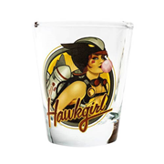 DC Bombshells Hawkgirl Shot Glass