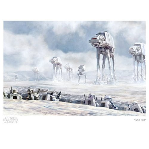Star Wars Hold Fast by Cliff Cramp Paper Giclee Art Print