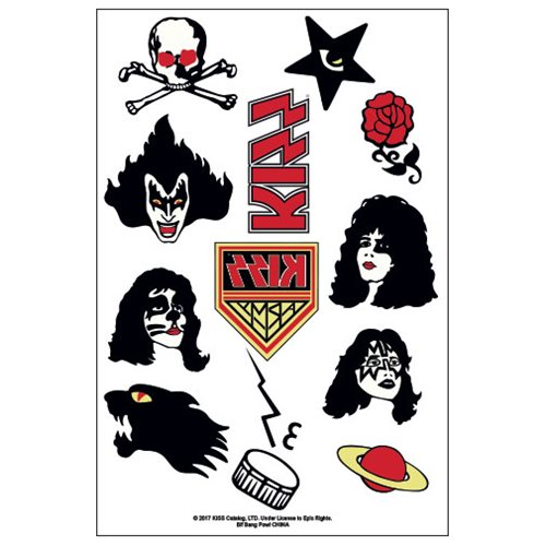 Kiss Temporary Tattoos Sdcc Debut Entertainment Earth 39 kiss tattoos ranked in order of popularity and relevancy. kiss temporary tattoos sdcc debut