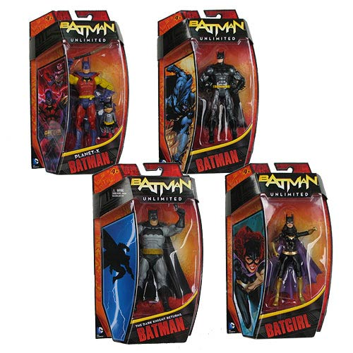 Batman Unlimited Action Figures Wave 2 Case