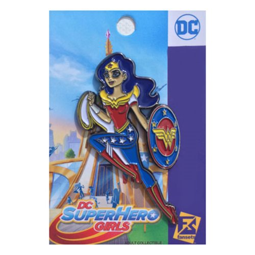 DC Superhero Girls Wonder Woman Pin