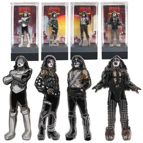 KISS Love Gun FiGPiN Enamel Pins Set