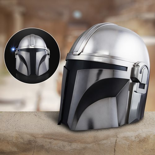Star Wars The Black Series The Mandalorian Premium Electronic Helmet