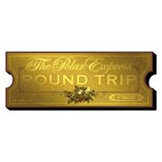 The Polar Express Ticket Funky Chunky Magnet
