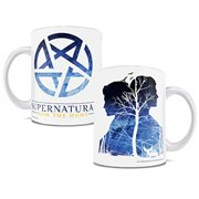 Supernatural Pentagram 11 oz. White Ceramic Mug