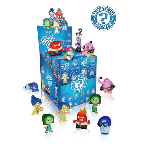 Inside Out Mystery Minis Mini-Figure Display Case