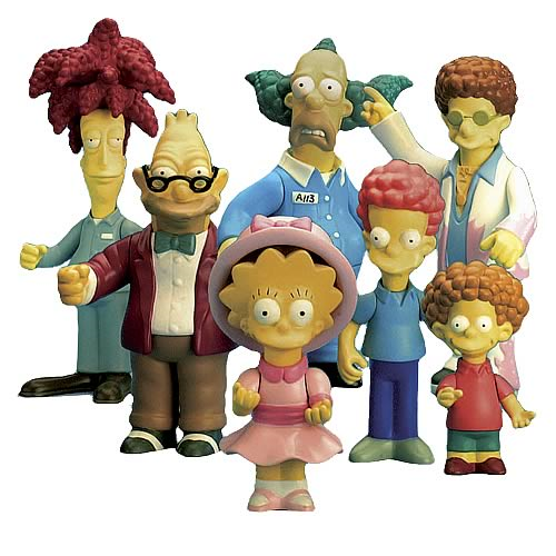 Simpsons Series 9 Action Figure Set