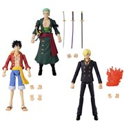 One Piece Anime Heroes Wave 1 Action Figure Set