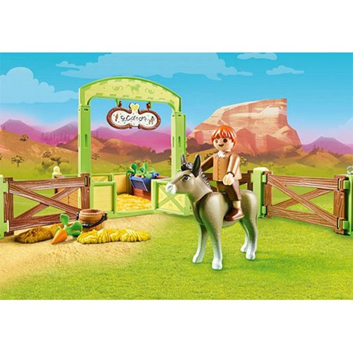 Playmobil 70120 Snips & Senor Carrots with Horse Stall