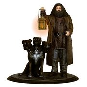 Harry Potter Hagrid and Fluffy Premium Motion Statue