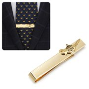 Aladdin Gold Lamp Tie Bar