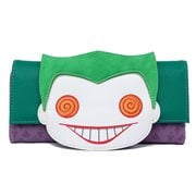 Batman Joker Eyes Pop! by Loungefly Flap Wallet