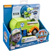 Paw Patrol Recycling Truck Vehicle with Rocky, Not Mint