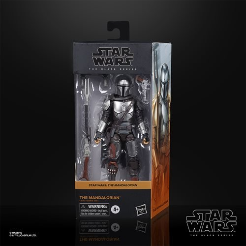 Star Wars The Black Series The Mandalorian (Beskar) 6-Inch Action Figure