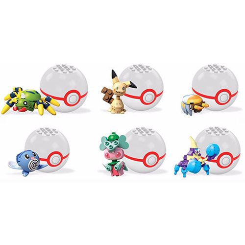 Mega Construx Pokemon Poke Ball Series 3 Case