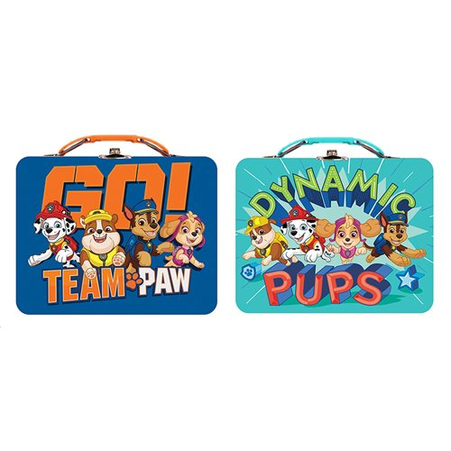 Paw Patrol Tin Lunch Box Set