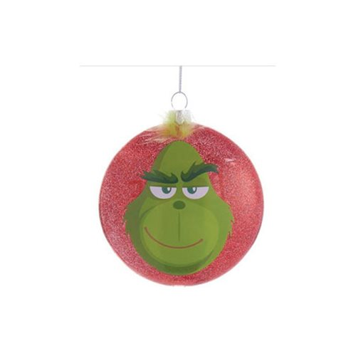 The Grinch Define Naughty 3 1/2-Inch Glass Disc Ornament