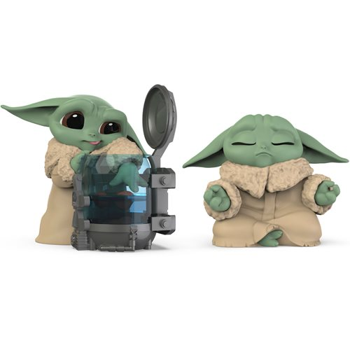 Star Wars Mandalorian Baby Bounties Curious and Meditation