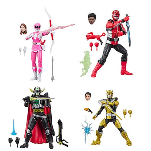Power Rangers Lightning Collection 6-Inch Figures Wave 2