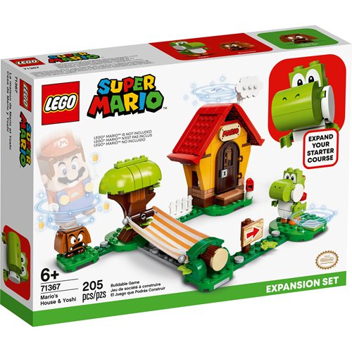 LEGO 71367 Super Mario Mario's House & Yoshi Expansion Set