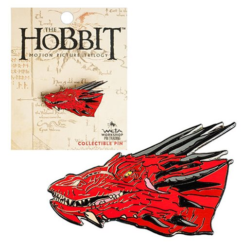 The Hobbit Smaug Collectable Pin