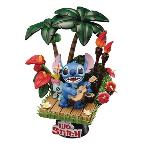 Lilo & Stitch D-Select Series DS-004 6-Inch Statue - Previews Exclusive