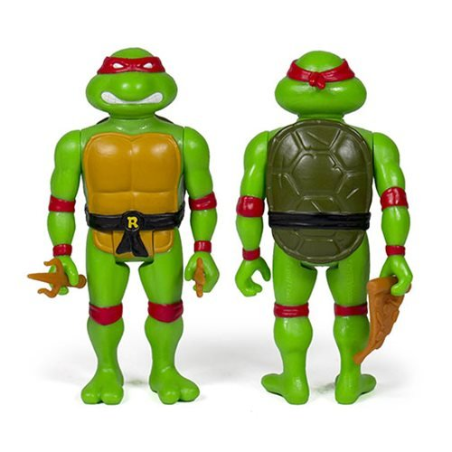 Teenage Mutant Ninja Turtles Raphael 3  3/4-Inch ReAction Figure