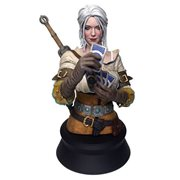 The Witcher 3: Wild Hunt Ciri Playing Gwent Bust