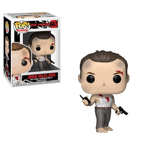 Die Hard John McClane Pop! Vinyl Figure #667, Not Mint