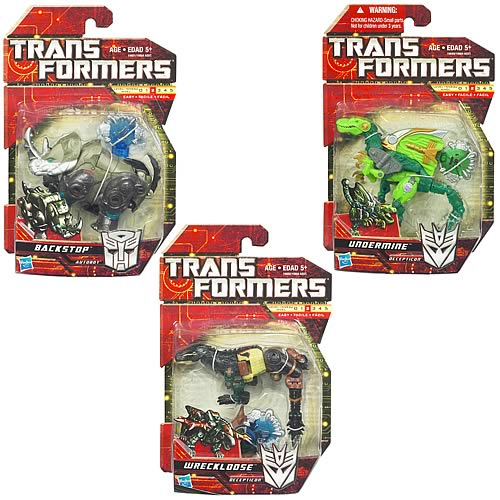 Transformers Generations Scout Basic Wave 1 Set
