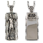 Star Wars Han Solo in Carbonite Pendant Necklace